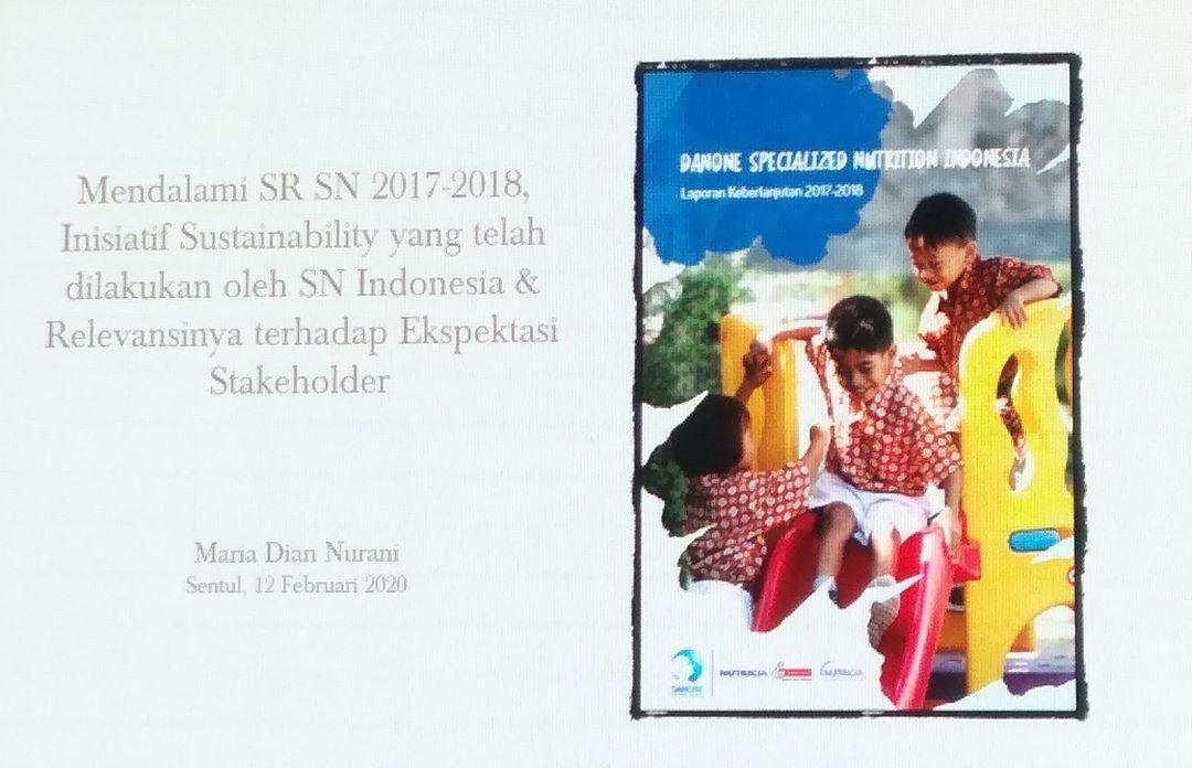 Laporan Keberlanjutan Danone Indonesia