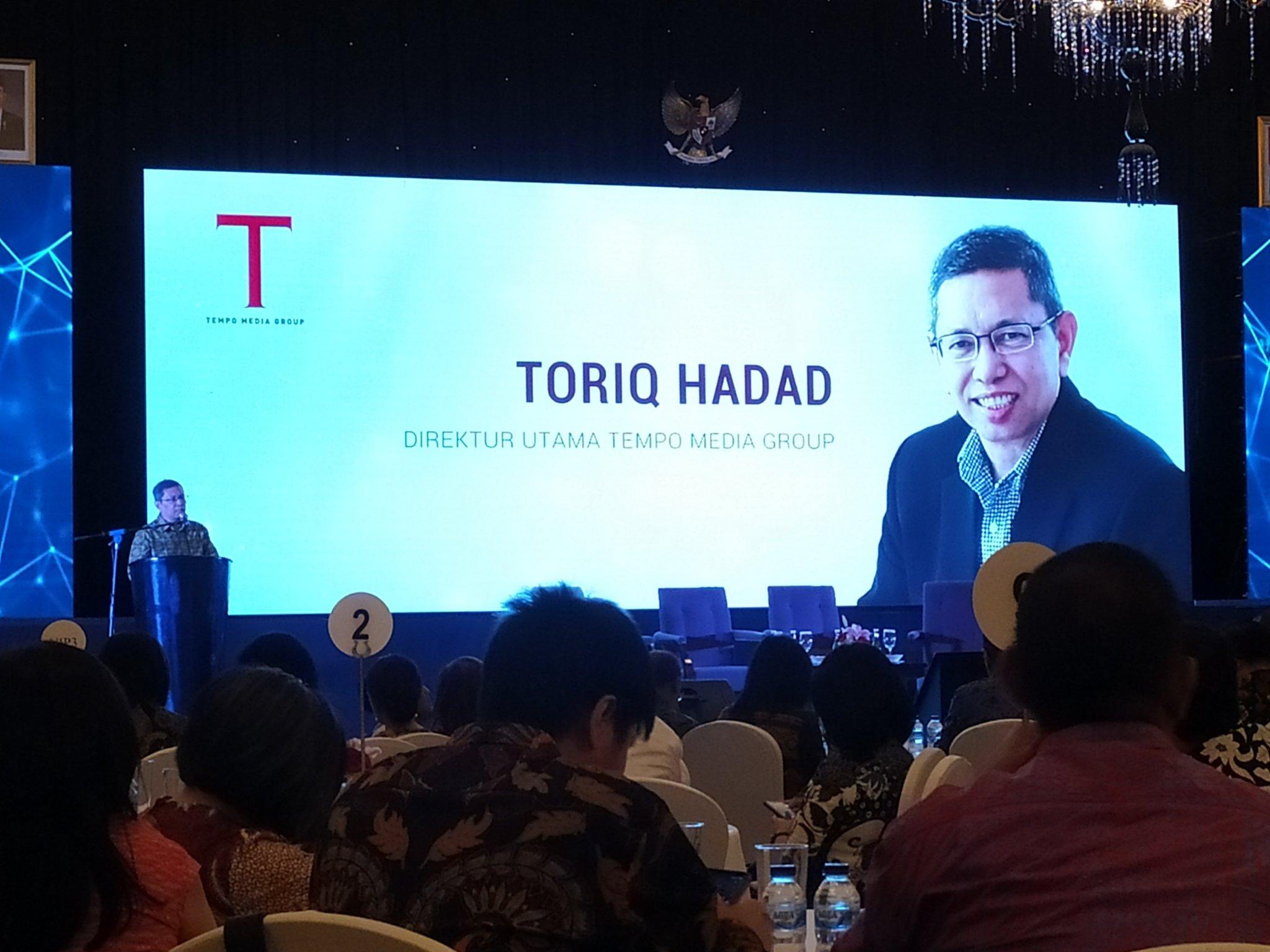 Toriq Hadad, Direktur Utama Tempo Media Grup