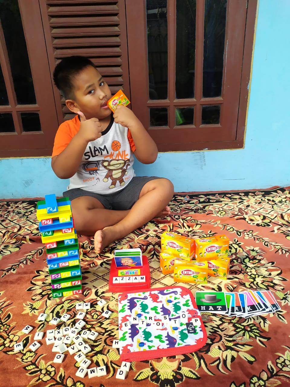 Entrostop Herbal Anak disukai anak-anak