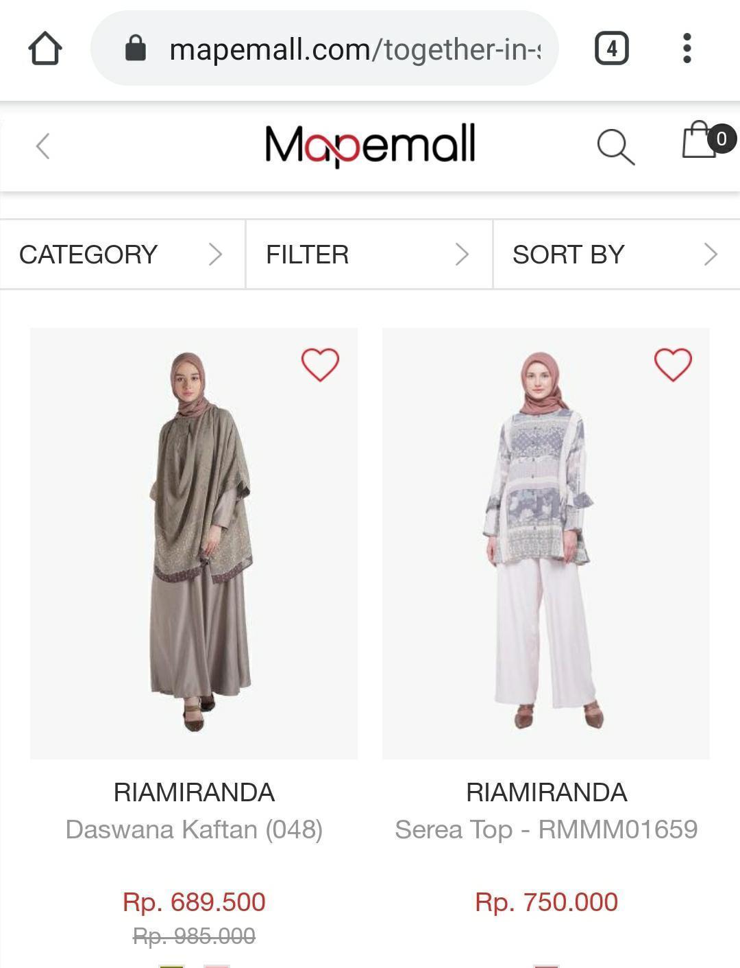 Belanja fashion hijab Authentic Brand di online shop terpercaya
