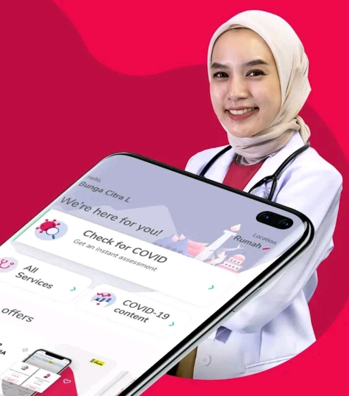 Konsultasi kesehatan di Halodoc