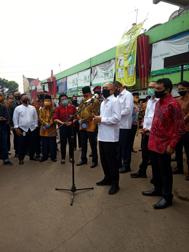 Kunjungan kerja Menteri Koperasi dan UKM Indonesia