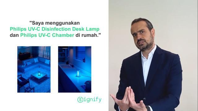 Mengenal lebih dekat dengan teknologi sinar UV-C bersama Signify