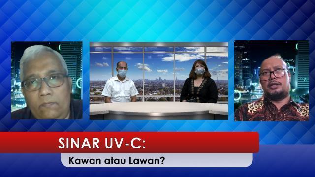 """Diskusi Virtual """"Sinar UV-C: Kawan atau Lawan?"""