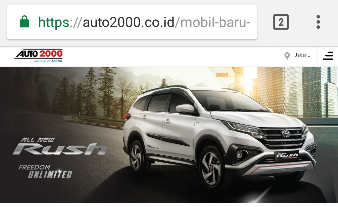 Website Auto2000.co.id