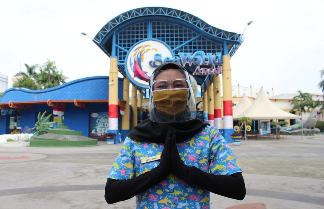 Rekreasi di Ocean Dream Samudra dan Sea World Ancol