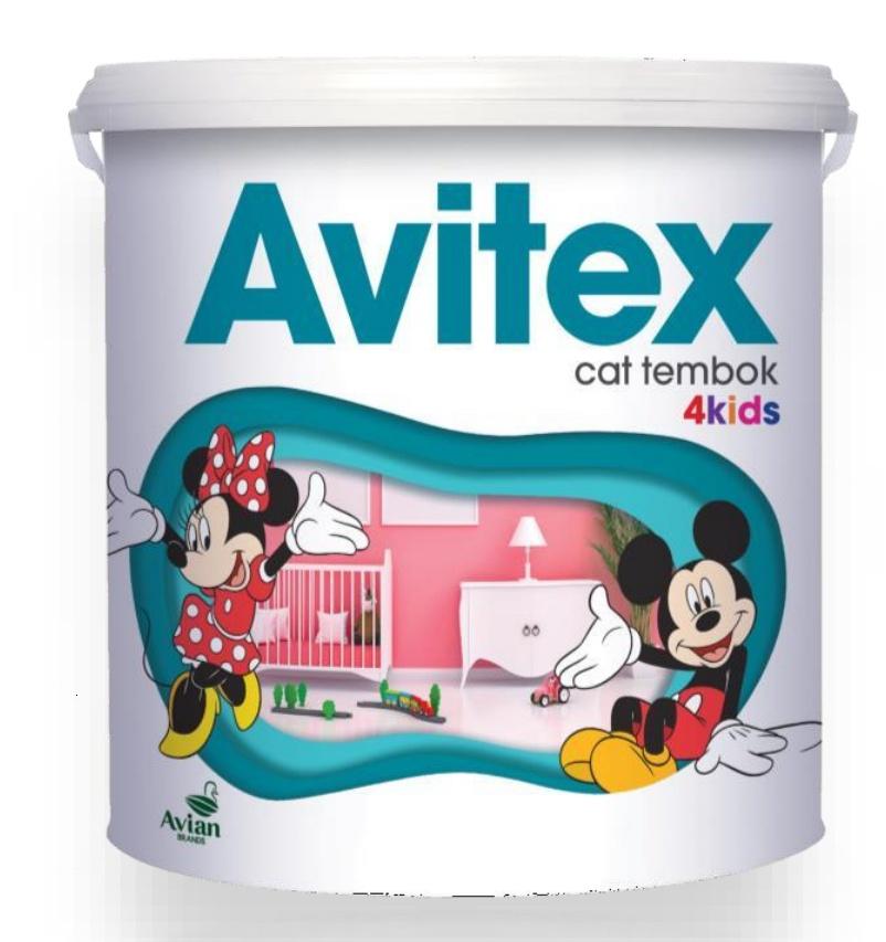 Cat Tembok Interior Avitex 4kids