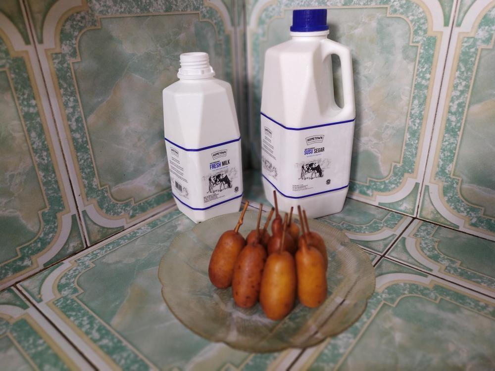 Susu murni Hometown Dairy juga bisa diolah jadi beragam olahan makanan