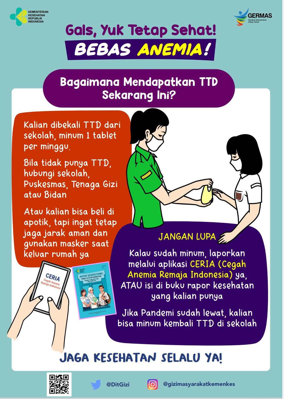 Cara mendapatkan TTD