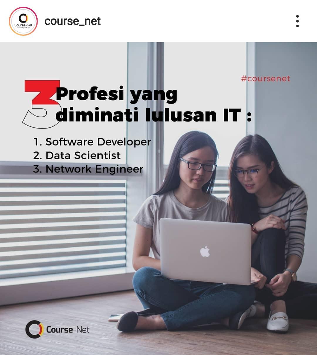 Course-Net bantu kita mempelajari program studi IT