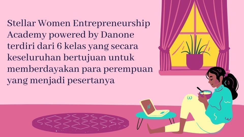 Tujuan dari program Women Enterpreneurship Academy