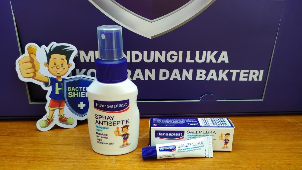 Hansaplast Spray dan Salep Luka