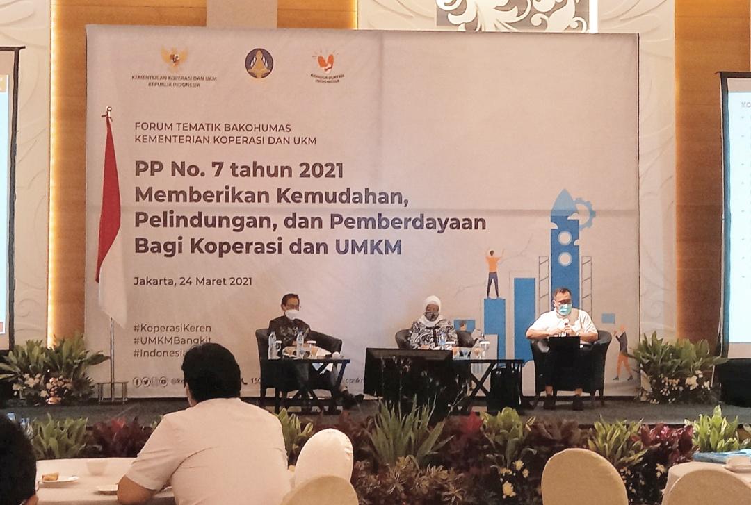 Forum Tematik Bakohumas Kementerian Koperasi dan UKM