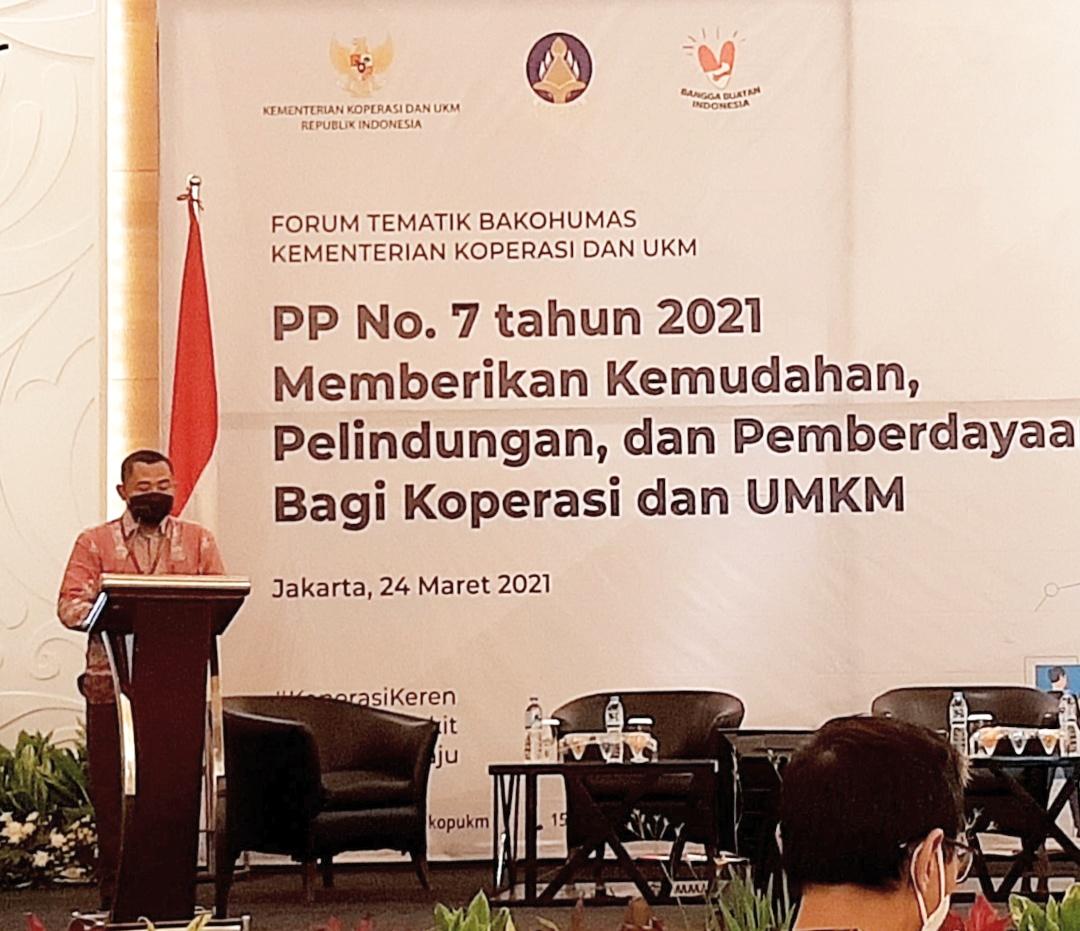Kepala Biro Komunikasi dan Teknologi Informasi Kementerian Koperasi dan UKM Bapak Budi Mustopo