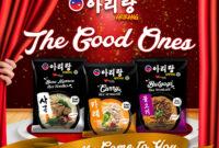 ARIRANG Mie Instant Korea