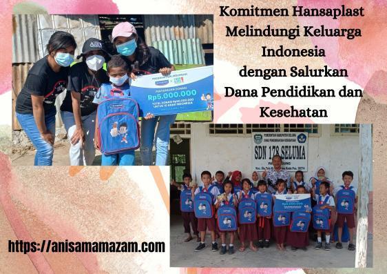 Komitmen Hansaplast Melindungi Keluarga Indonesia dengan Salurkan Dana Pendidikan dan Kesehatan
