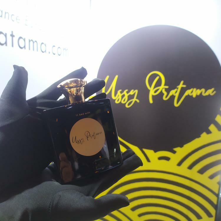 Launching parfum In Bed with Ussy Pratama