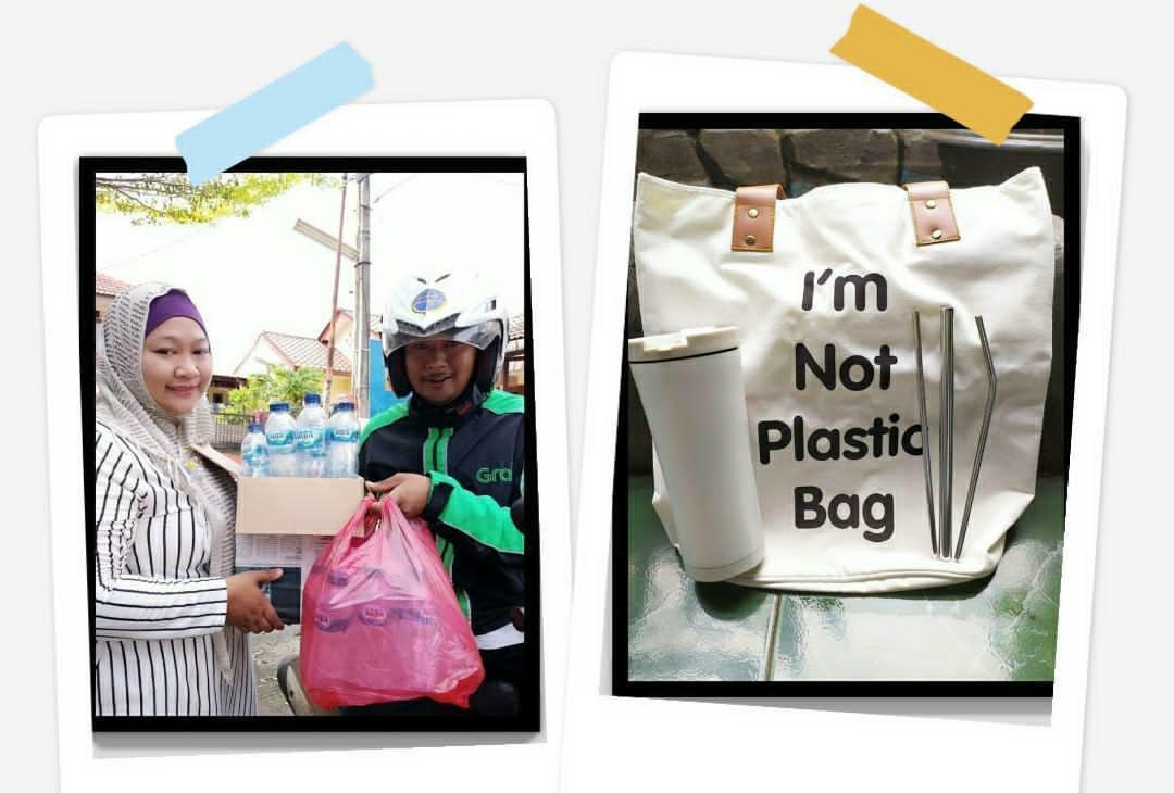 Kontribusi dalam mengurangi dampak buruk dari sampah plastik