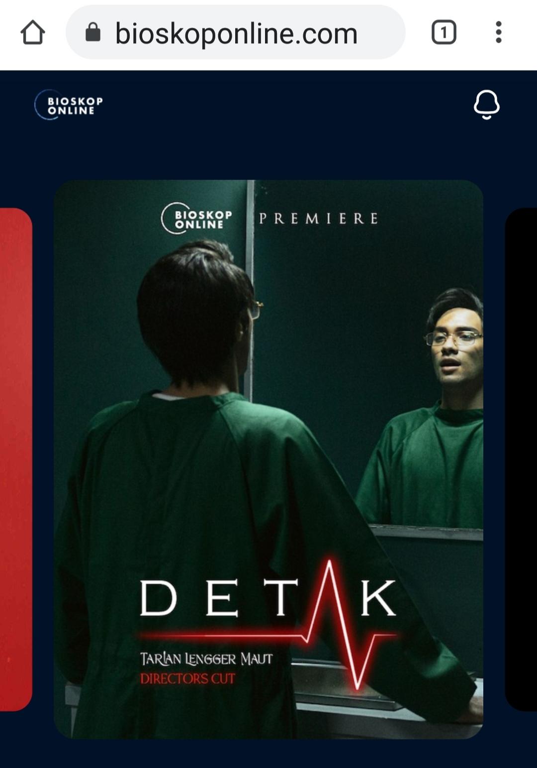 Film Detak di bioskop online