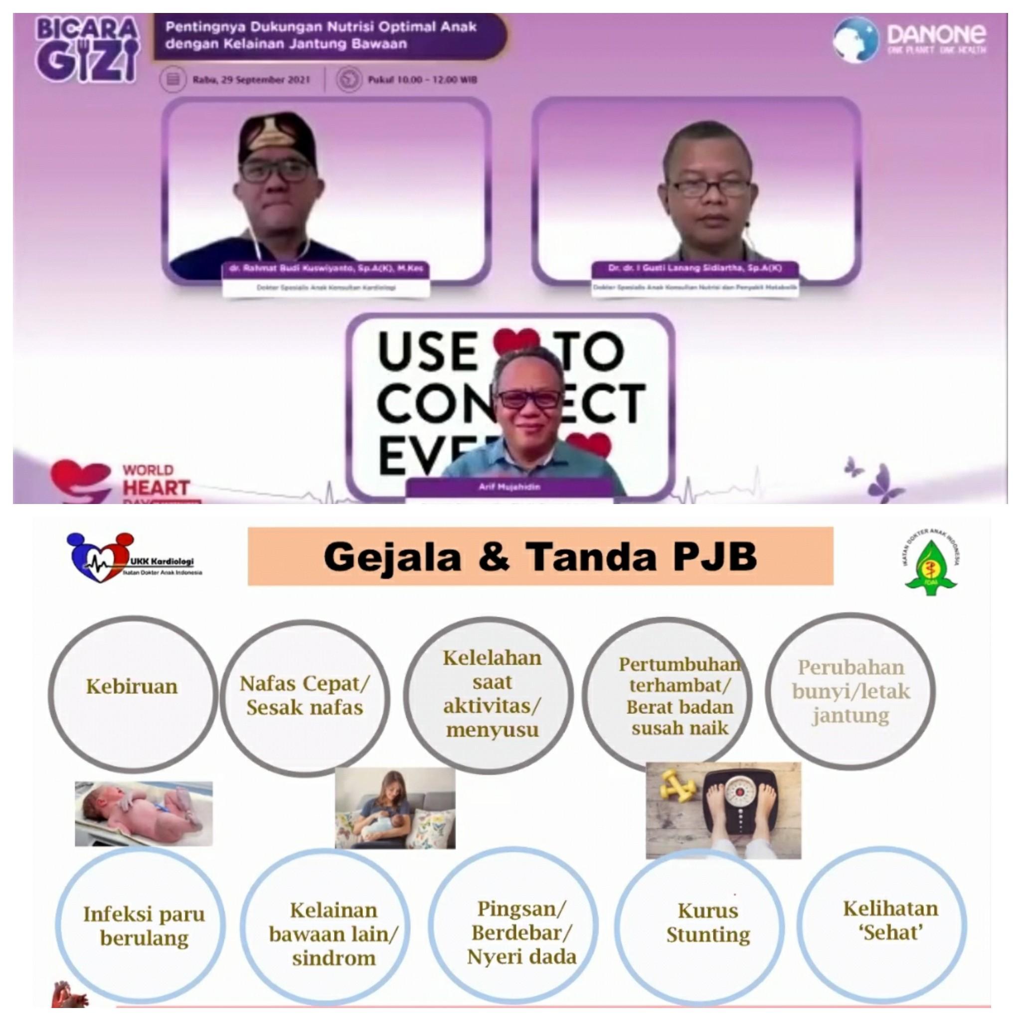 Dukungan Danone Specialized Nutrition Indonesia bagi orang tua dengan anak PJB